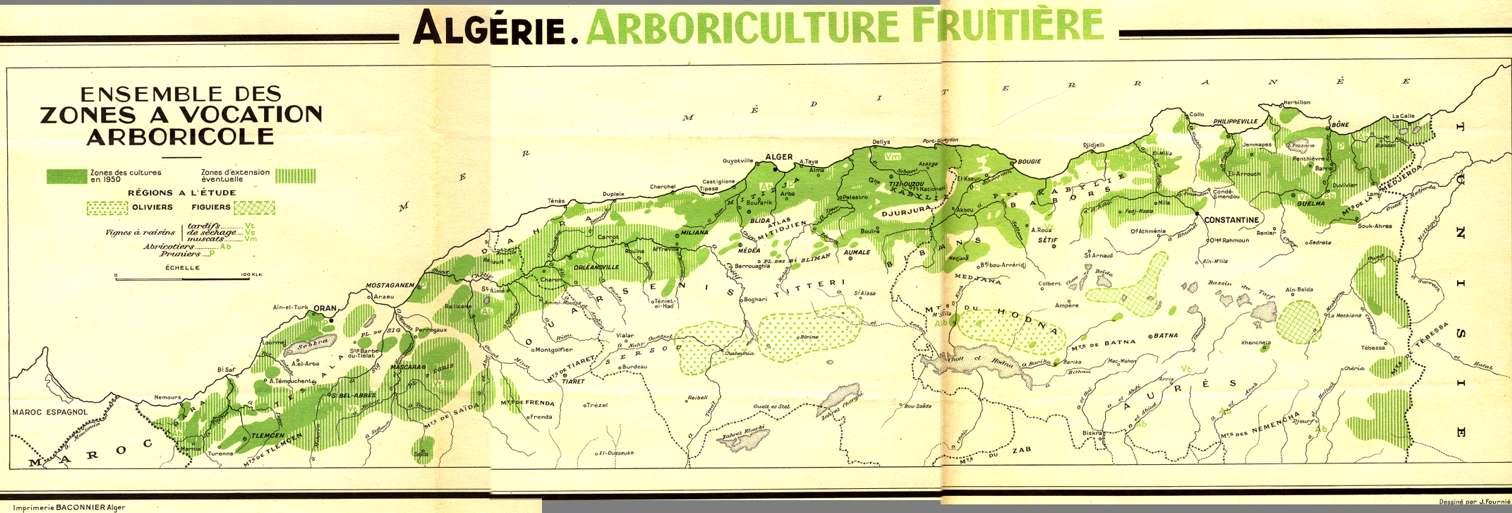 Les cultures fruitieres algeriennes etat actuel for Bank exterieur d algerie